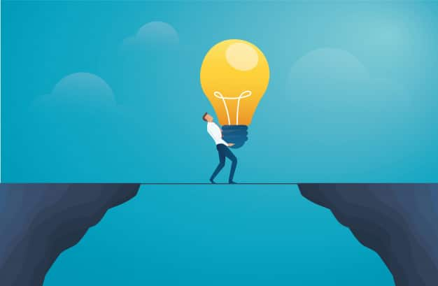 How an idea becomes something quite different